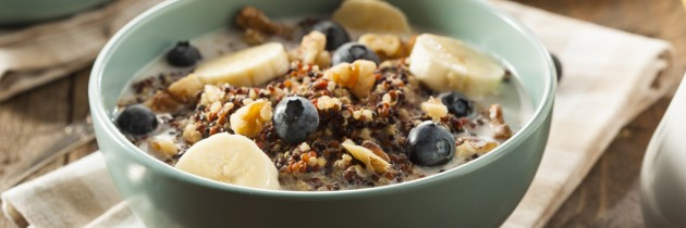 Quirky Quinoa Breakfast Porridge
