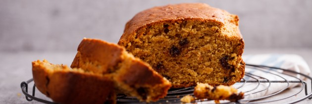 Choc Chip Spiced Pumpkin Bread