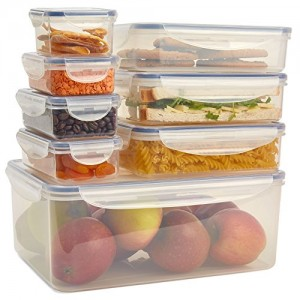 Andrew-James-8-Piece-Food-Storage-Set-With-Blue-Detail-BPA-Free-Airtight-Clip-Lock-Boxes-Of-Various-Sizes-Microwave-Freezer-and-Dishwasher-Safe-0