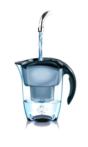 brita elemaris meter xl water filter jug 3 5 l black london nutritionist angelique. Black Bedroom Furniture Sets. Home Design Ideas