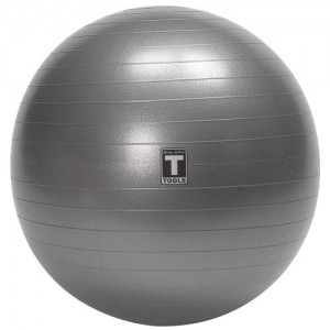 Body-Solid-55cm-Anti-Burst-Gym-Ball-Grey-0