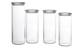 Bohemia-Cristal-Storage-Container-Glass-4-Piece-Set-transparent-0