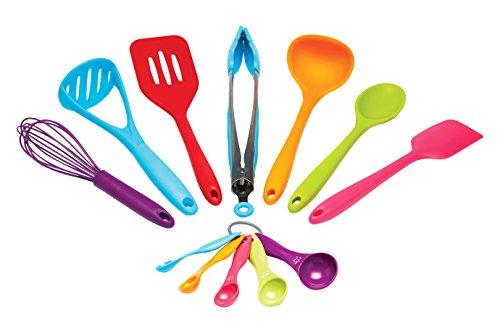 Kitchen Craft Colour Works Kitchen Tool Set Pack