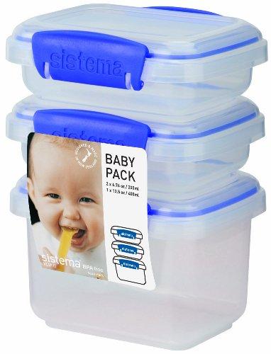 Sistema KLIP IT Baby Food Storage Containers Pack