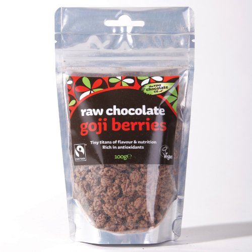 The Raw Chocolate Company Limited Goji Berries Covered With