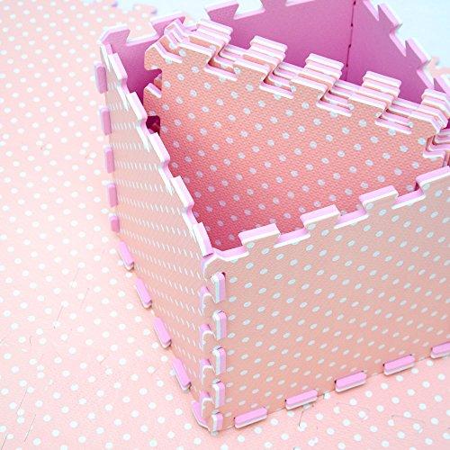 tiles puzzle floor amazon com with ac borders foam mats solid kids colors dp prosource play mat